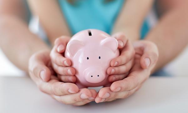 Hold Piggy Bank